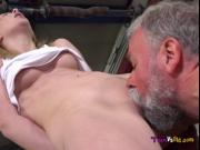 Teen Daniela C Gets Doggystyled By Old Neighbor