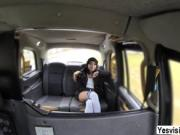 Rina gets rammed hard in the backseat by the cab driver