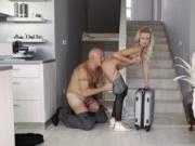 Old lady gives blowjob Finally at home, finally alone!
