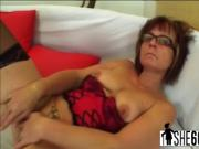 Gorgeous gilf screwed in lingerie