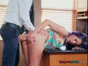 Hot Chick Yurizan Beltran Gets Her Bumhole Stretched