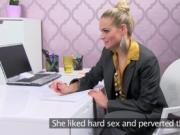 Hot pleasure for nasty female agent