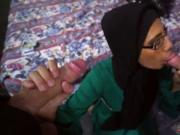 Small teen threesome Desperate Arab Woman Fucks For Mon
