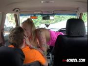 Blonde Hottie Kayla Green Rides Driving Instructor