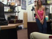 Horny babe Layla London gets fucked in the office