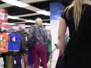 Attractive czech girl was seduced in the mall and drill