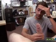 Doctor stroke gay straight Dude bellows like a lady!