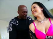 Asian american babe Katrina Jade pounds Lexingtons Stee