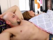 Step bro J bangs Kelly Greens stretched pussy