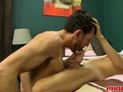Hot tight twink Kyler Moss gets his cherry popped by Br