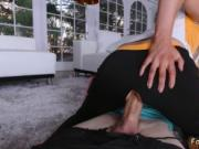 My step daddy and mature taboo handjob Stretching Your