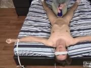 Male super gay twinks Luca Loves That Fleshlight