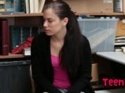 Tattooed Teen Shoplifter Bobbi Dylan Gets Blackmailed I