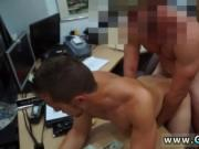 Cute bare hunk gay xxx Guy completes up with anal bang-
