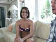 Hot fuck drives babe totally crazy