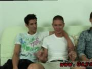 Gay guys blowing straight ginger men and young black bo