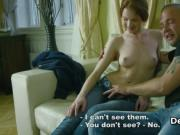 Horny guy deflorates redhead virgin