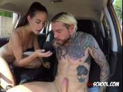 Hot Driving Instructor Cassidy Klein Gets Impaled
