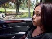 Sexy babe Tiffany Nunez trades blowjob for fast cash