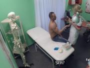 Dude banging milf nurse in hospital