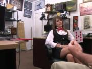 Dominatrix handjob xxx Card dealer cashes in that pussy