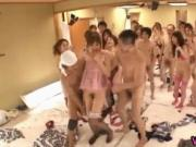 Crazy Asian girls have hot gangbang 8 by weirdjp