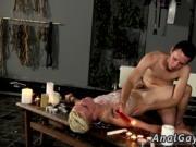 Free gay boy porn bondage Splashed With Wax And Cum