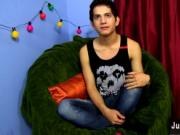 Amazing gay scene Eighteen year old Giovanni Lovell is