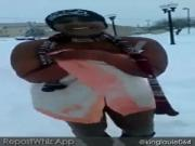thot snow challenge
