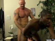 Gay boy cum blow porn JP gets down to service Mitch's