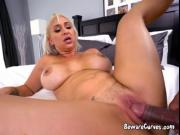 Blonde Whore Nina Kayy Gets Impaled By Hung Boss