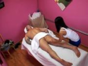 Dude enjoys sex and massage