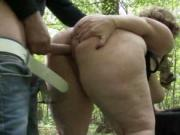 Sophia BBW sex in the woods