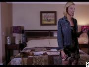 Blonde Alexis Fawx and Haley Reed insane scissor sex