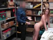 Daisy Stone fucks the detectives cock