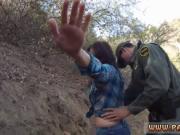 Outdoor sex creampie xxx Mexican border patrol agent ha