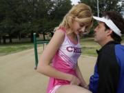 Daddy cheer coach plowing Alexa Grace