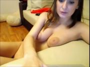 Girl With Big Tits Chatting On Cam
