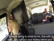 Big boobied milf taxi driver fucks hard
