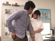Japanese hottie gets a hard fuck