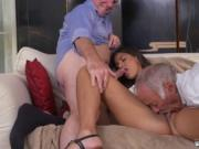 Young ebony bitch and old man fucks redhead Going South