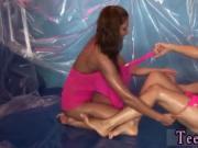 Shy german teen Hot woman wrestling