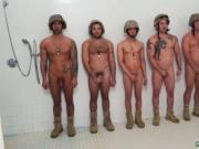 Military men filmed them selves jerking gay hot mischie