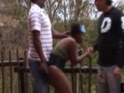 African sluts chained smacked and dominated hard by a G