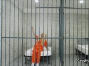 Blonde convict fucks in jail