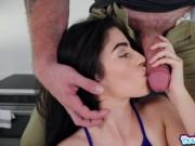 Big fat cock banging Jasmine Vegas pussy doggystyle