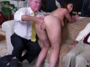 Two old women first time Ivy impresses with her ample b