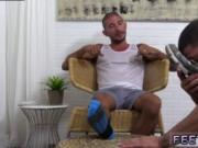 Bare boys feet gay first time Johnny Hazzard Stomps Ric