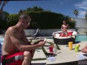 Big tits wet blowjob Sneaking into Your partner's frien