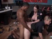 Black milf fucks white dick Raw video grabs officer plo